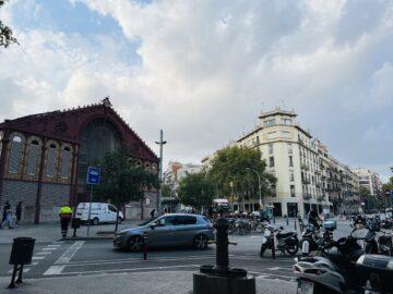 I'm in Barcelona